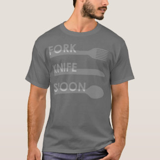 Fork Knife Spoon T-Shirt