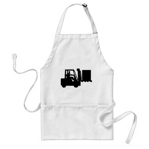 Fork-lift operator adult apron