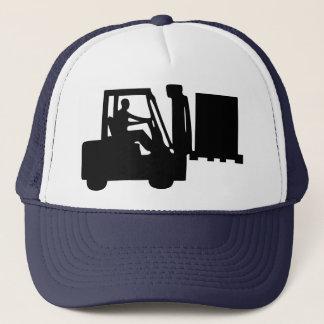 Fork-lift operator trucker hat