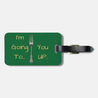 Fork Luggage Tag