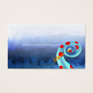 FORK OCTOPUS Rupydetequila 2013 Business Card