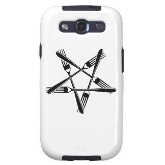 Fork Pentagram (black) Galaxy SIII Case
