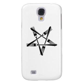 Fork Pentagram (black) Galaxy S4 Covers