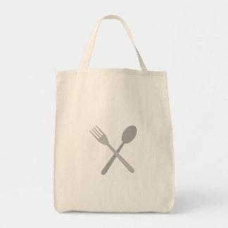 Fork & Spoon Tote Bag
