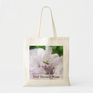 Fork Tailed Bush Katydid Nymph Tote Bag
