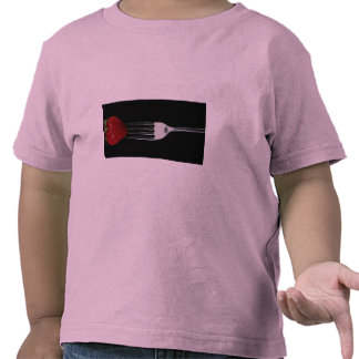 Fork with strawberry t shirts