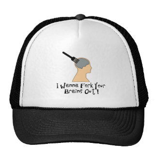 Fork Your Brains Out! Trucker Hat