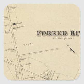 Forked River, New Jersey Square Sticker