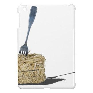 ForkInBaleOfHay061315.png Case For The iPad Mini