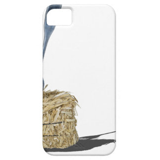 ForkInBaleOfHay061315.png iPhone SE/5/5s Case