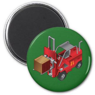 Forklift, Kids Pallet Truck Design Refrigerator Magnet
