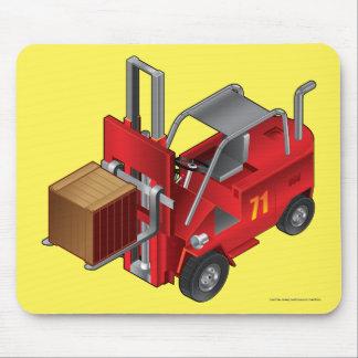 Forklift, Kids Pallet Truck Design Mouse Pad