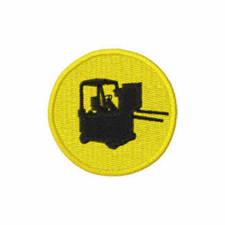 Forklift Patch Embroidered Jacket