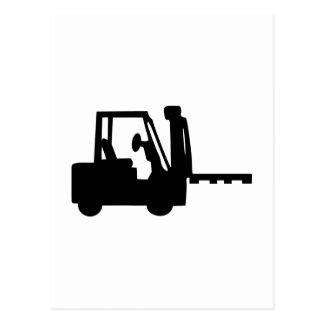 Forklift Postcard