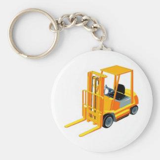 Forklift Truck (a.k.a. Lift Truck/Fork Truck) Keychain