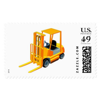 Forklift Truck (a.k.a. Lift Truck/Fork Truck) Postage