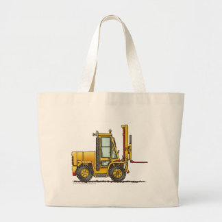 Forklift Truck Construction Bags/Totes Large Tote Bag