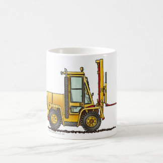 Forklift Truck Construction Mugs