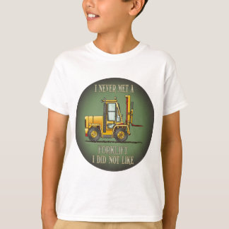 Forklift Truck Operator Quote Kids T-Shirt