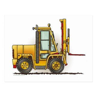 Forklift Truck Post Card