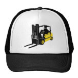 forklift truck retro mesh hats