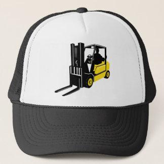 forklift truck retro trucker hat