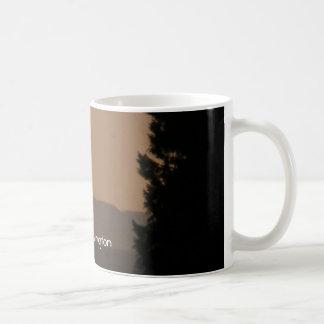 forks&B.C 218, Forks,Washington Classic White Coffee Mug