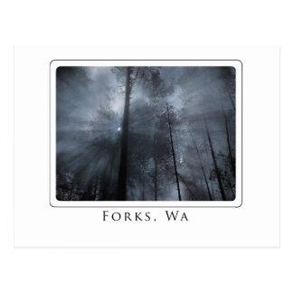 forks wa postcard