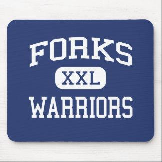 Forks Warriors Middle Forks Washington Mouse Pads
