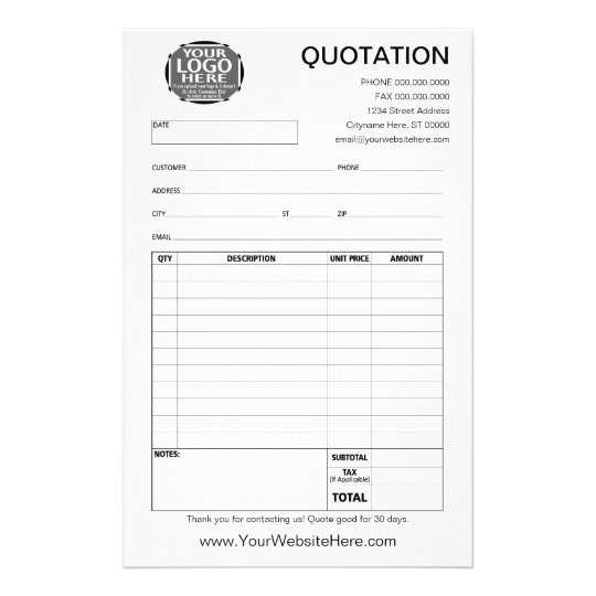 Quotation And Invoice Find This Pin And More On Quotation I