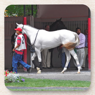 Form Fitting Filly by Tapit Beverage Coaster