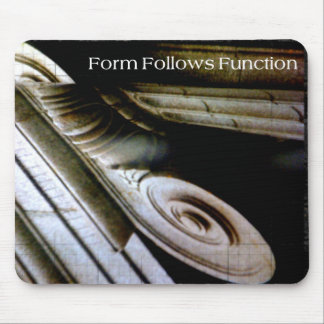 Form Follows Function Mouse Pad