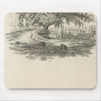 Form in which William Penn Mouse Pad