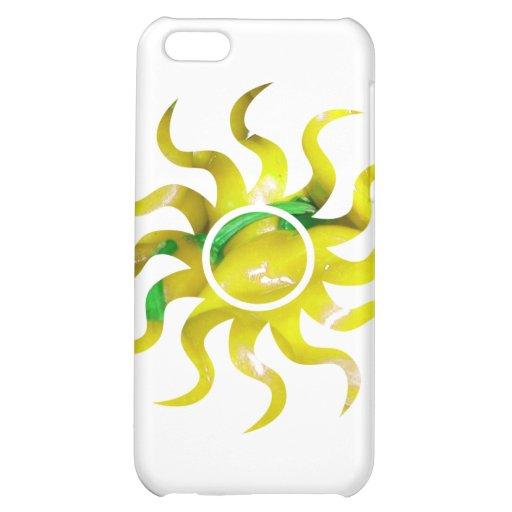 Forma 2 del recorte del sol del amarillo de la pil
