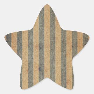 Forma 2 calcomanías forma de estrella personalizadas