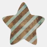 Forma 3 pegatina en forma de estrella