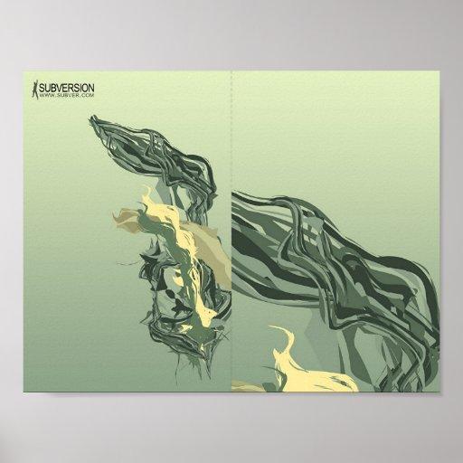Forma abstracta 02 póster