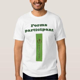 Forma al participante, 1 echado a un lado (Platón) Camisas