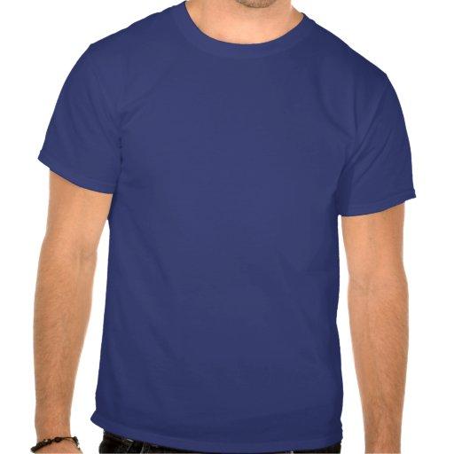 Forma blanca de Tejas con la serpiente de Gadsden Camisetas