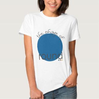 Forma: círculo camisas