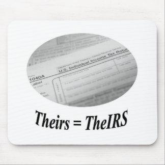 Forma de impuesto del IRS 1040 Mousepads