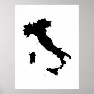 Forma de Italia Impresiones