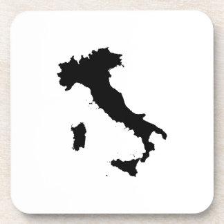 Forma de Italia Posavasos De Bebidas