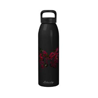 Forma de la mariposa de la vela del diseño 1 de la botellas de agua reutilizables