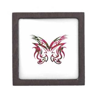 Forma de la mariposa de la vela del diseño 1 de la cajas de recuerdo de calidad