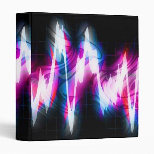 """Forma de onda enrrollada del audio del gráfico EQ Carpeta 1"""""""