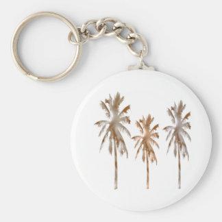 Forma de vida del país de la playa llavero redondo tipo pin