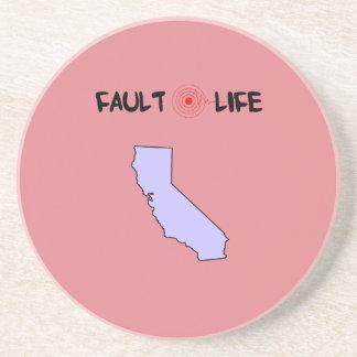 Forma de vida del terremoto de California de la Posavasos De Arenisca