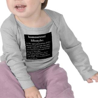 Forma de vida homosexual camiseta