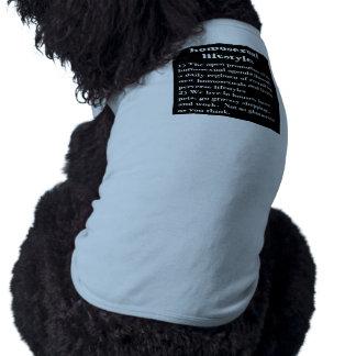 Forma de vida homosexual prenda mascota